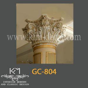 گچبری دستی ستون GC-804، ستون گچبری ، گچبری ، گچبری دستی سنتی
