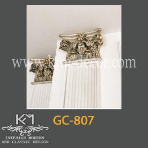 گچبری دستی ستون GC-807، ستون گچبری ، گچبری ، گچبری دستی سنتی